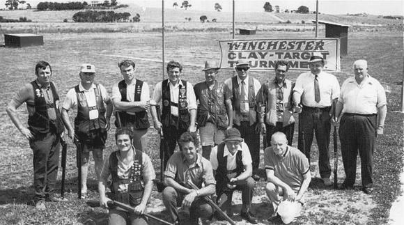 The Winchester Tournament at Melbourne Gun Club 1972